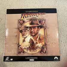 Indiana Jones and the Last Crusade - Letterbox Edition Gatefold Laserdisc Ld