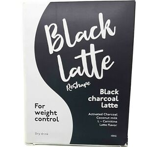 Black Latte dry drink fight overweight losing weight burn calories 100g