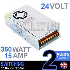 24v Dc 360w 15a 230v 110v Switching Power Supply For Led Strip Driver Cctv
