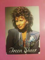 ☆☆☆ Ireen Sheer, Original signierte Autogrammkarte, handsigniert, TOP ☆☆☆