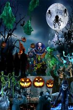 All ATMOSFX digital decorations Halloween and Christmas available