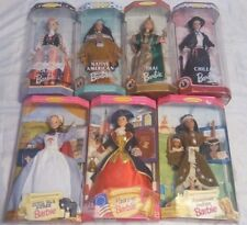 Barbie - Mattel Collection of 7- 14612, 17312, 14715, 18559, 18561, 18558, 18560