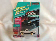 Johnny Lightning JLMC014 Muscle Car 1991 GMC Syclone Ver B  CHASE WHITE