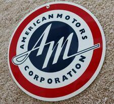 AMC American Motors Corp sign ... Rambler Rebel Javelin AMX Pacer