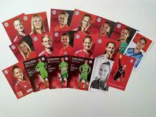 Frauenfußball 90 Autogrammkarten FC Bayern München