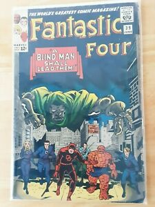 FANTASTIC FOUR #39 VG/FN (5.0) MARVEL COMICS DAREDEVIL JUNE 1965**
