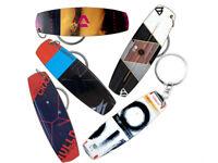 Kitesurfing Kiteboard - Keychain, Keyring - Board shape