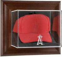 Angels Brown Framed Wall- Logo Cap Case - Fanatics
