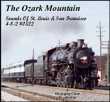 Train Sound CD: Frisco 1522 - The Ozark Mountain