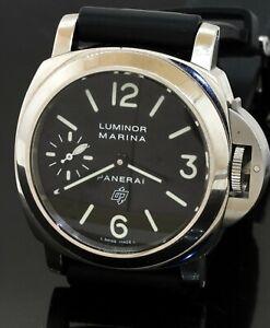 Panerai Luminor Marina Firenze high fashion SS manual winding men's watch