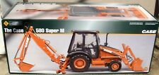 Ertl Precision 1/16 Scale Case 580 Super M Backhoe Loader #14132 New In Box