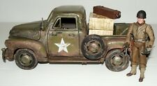 1:18 Solido WWII U.S Army Chevrolet Cargo Truck with Ultimate soldier Figure