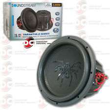 "SOUNDSTREAM T5.124 12"" TARANTULA SERIES CAR AUDIO DUAL 4-OHM SUBWOOFER 1000W RMS"