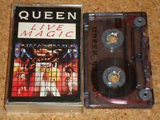 QUEEN - Live Magic - cassette tape album