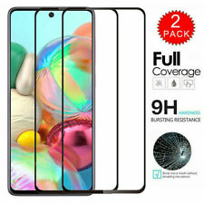 For Samsung A10E A20 A20S A51 A71 Full Coverage Tempered Glass Screen Protector