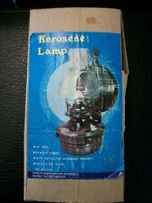 Vintage Kerosene Lamp in Box Made in Hong Kong