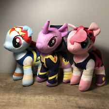 "My Little Pony MOVIE 9"" PLUSH Walmart Exclusive Rainbow Dash Pinkie Pie Twilight"