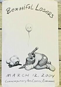 KAWS Offset Print 2004 Beautiful Losers Contemporary Art & Streetculture Poster