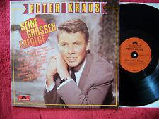 Peter Kraus - Seine grossen Erfolge       klasse German Polydor Club  LP