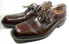 Florsheim 13113-200 Brown Leather Casual Lace Up Oxfords Shoes Size US 8 Men's