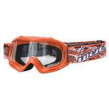 Pitbike MX Wulfsport Junior Racing Goggles Small Medium Large XL (orange)