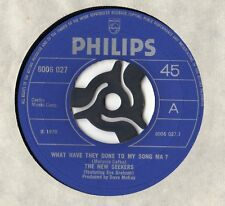 "NEW SEEKERS-What Have They Done To My Song Ma simple 7"" 1970"