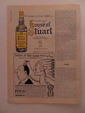 1962 Print Ad Fitch Men's Shampoo ~ The Hard Way Indian Scalping Sam Hoff Art