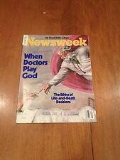 Newsweek Magazine When Doctors Play God August 31 1981 USA vs Kaddafi Rob Bork