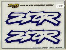 (Evo) Swingarm Decals Graphics CR 250 1993 RP CR250