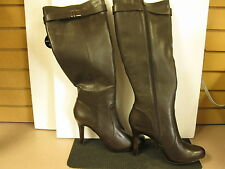 Alfani Jada Brown Leather Boots US 10 M