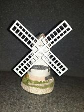 "1985 John Hine Ltd. ""Windmill By David Winter"" Hand Made In Great Britain *"