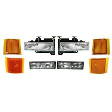 1994 1995 1996 1997 1998 CHEVY SUBURBAN HEADLIGHT  + PARK + SIDE LAMP COMBO