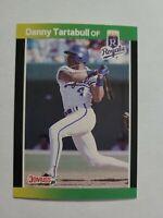 DANNY TARTABULL 1989 DONRUSS BASEBALL'S BEST BASEBALL CARD # 39 D9041