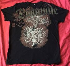 Black Keep It Controlled Dominate Two Sided Shirt Size XL Black