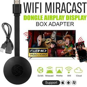 Miracast Dongle Wifi Wireless HDMI Mirror Screen Display Adapter For 1080P TV