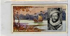 (Ga6343-335) Smith, Famous Explorers, #28 Sir Walter Raleigh 1911 G-VG