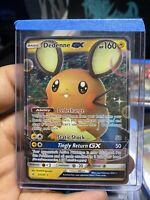 Dedenne GX Ultra Rare Pokemon Card 57/214 Unbroken Bonds Pack Fresh Never Played