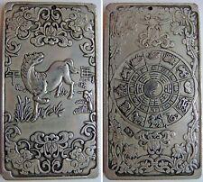 Amulette Signe Astrologique Chinois Chien Astro talisman Porte bonheur   E8