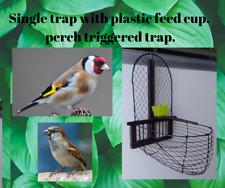 Sparrow bird recapture. Forest/garden recapture  bird trap. FREE POSTAGE