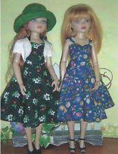 "Sewing dress hat jacket Pattern fits 16"" Ellowyne wilde fashion doll"