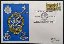 1970 The Queen's Regiment COVER bfps 1202 canterbury Group 1 - Cover 1