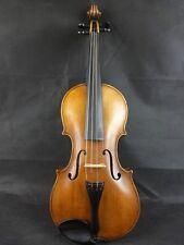 Vecchia sottili Deutsche violino violino prima del 1900, suolo benessere NOCE
