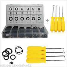 4x O Ring Seal Gasket Pick Hooks Puller Remover Tool+ 225x O-ring Assortment Kit