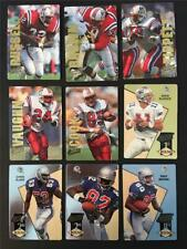 1993 Action Packed New England Patriots Team Set 9 Cards Drew Bledsoe RC
