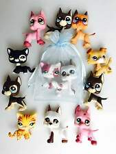 Littlest Pet Shop LPS Surprise Lot 2 Dog OR Cat & Accessories Gift Bag
