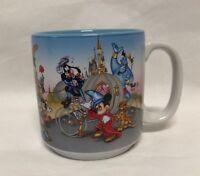 Vintage Walt Disney World 25th Anniversary Remember The Magic Coffee Mug 1996
