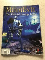 VINTAGE MEDIEVIL-1 THE OFFICIAL STRATEGY GUIDE PLAYSTATION 1 (PS1) Rare
