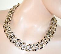 COLLANA donna GIROCOLLO oro anelli collar sexy necklace collier ожерелье 400