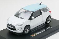 Citroen DS3, Bburago 18-21059, scale 1:24, toy car model boy gift adult