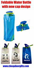 foldable water bottle with new cap design